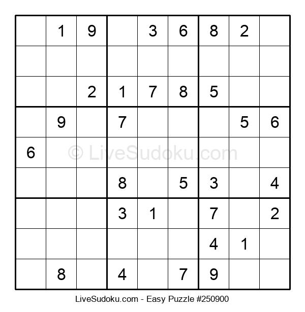 Beginners Puzzle #250900