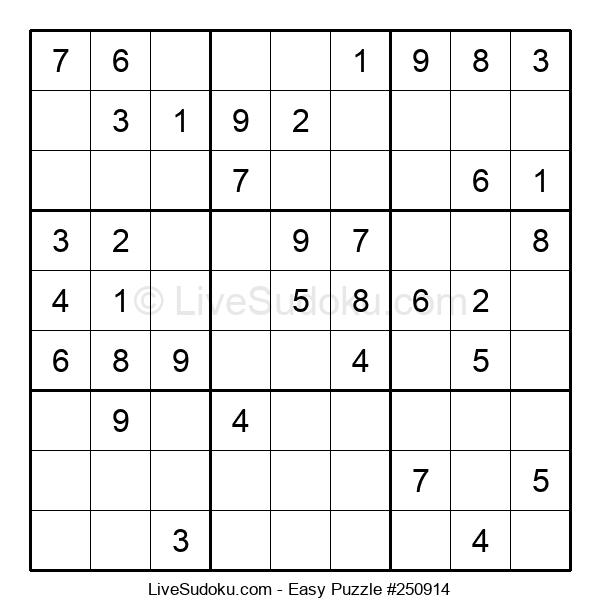Beginners Puzzle #250914