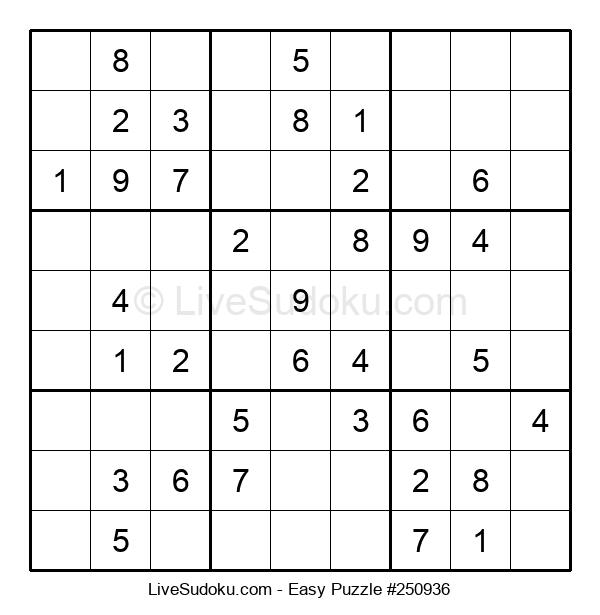 Beginners Puzzle #250936