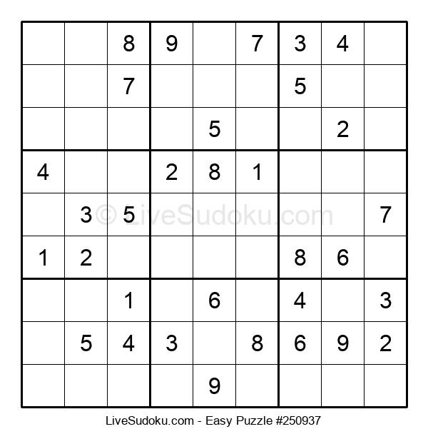 Beginners Puzzle #250937