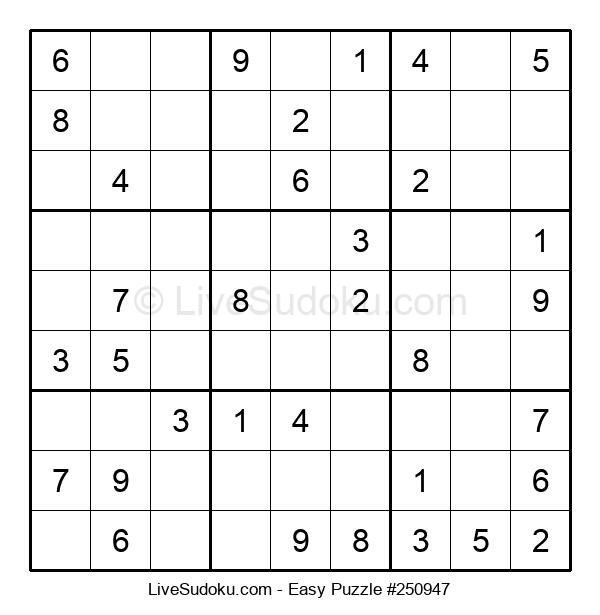 Beginners Puzzle #250947