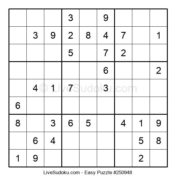 Beginners Puzzle #250948
