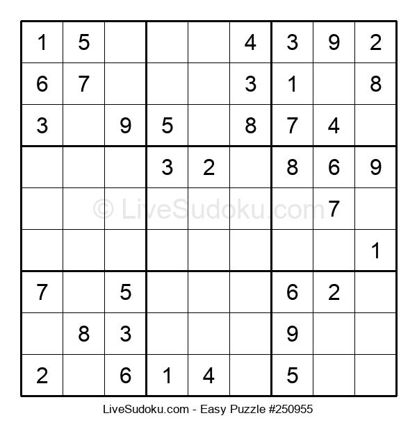Beginners Puzzle #250955