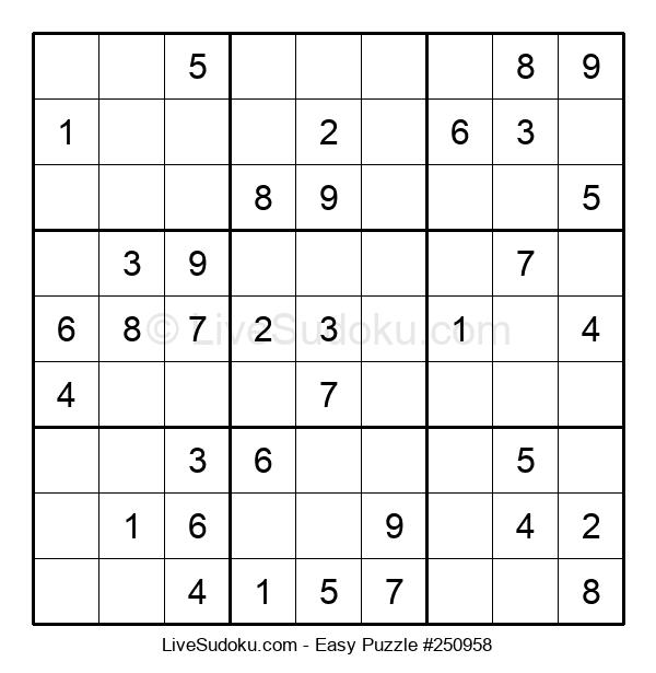 Beginners Puzzle #250958