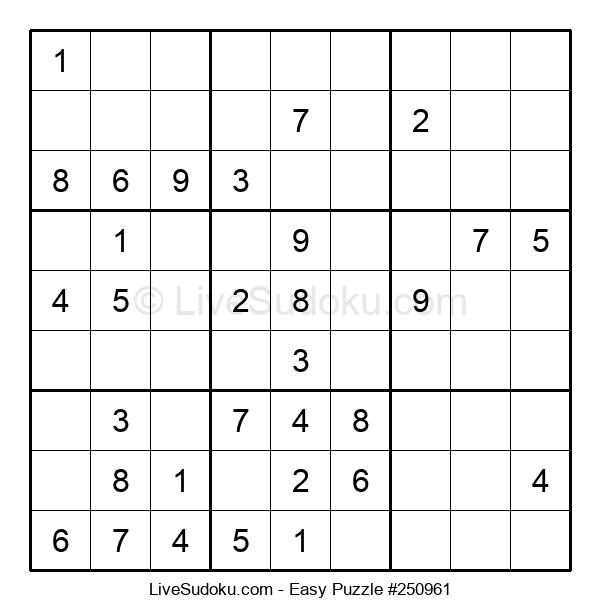 Beginners Puzzle #250961