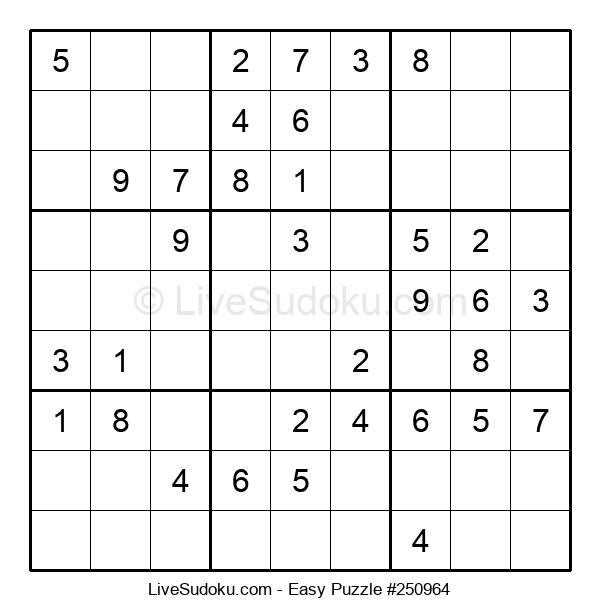 Beginners Puzzle #250964