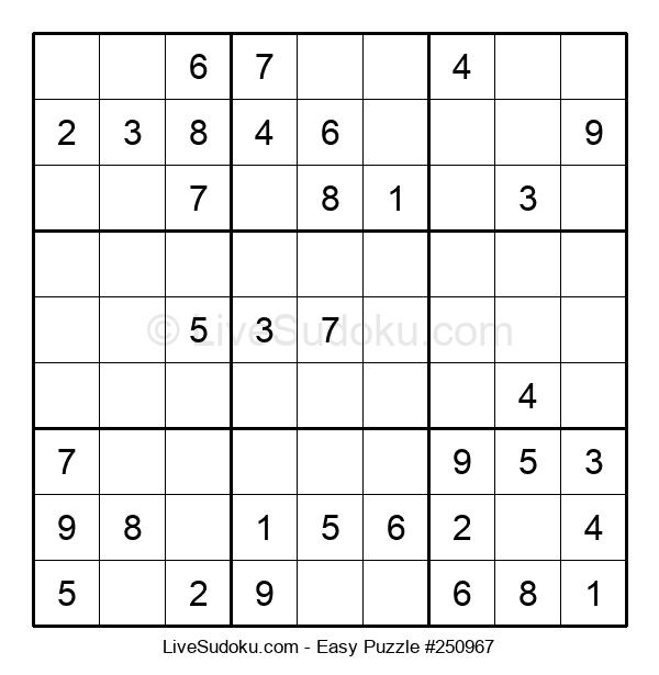 Beginners Puzzle #250967