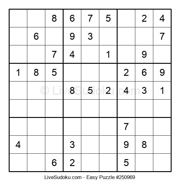 Beginners Puzzle #250969