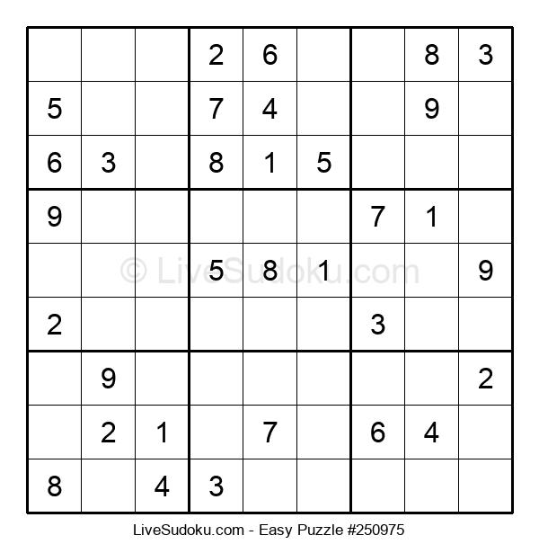 Beginners Puzzle #250975