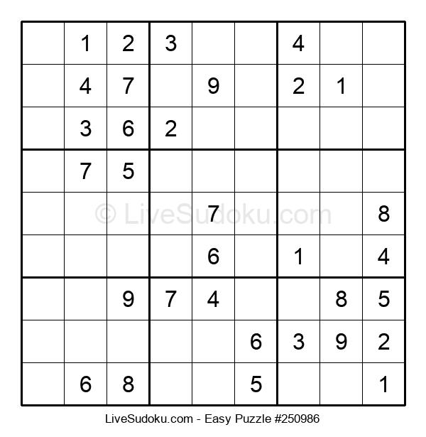 Beginners Puzzle #250986