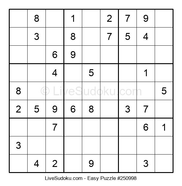 Beginners Puzzle #250998