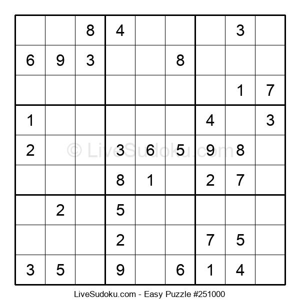Beginners Puzzle #251000