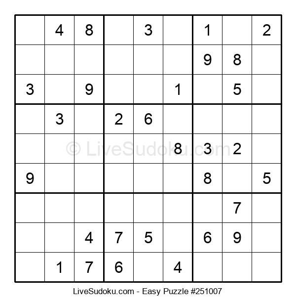 Beginners Puzzle #251007