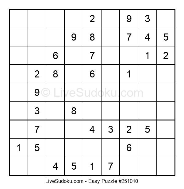 Beginners Puzzle #251010