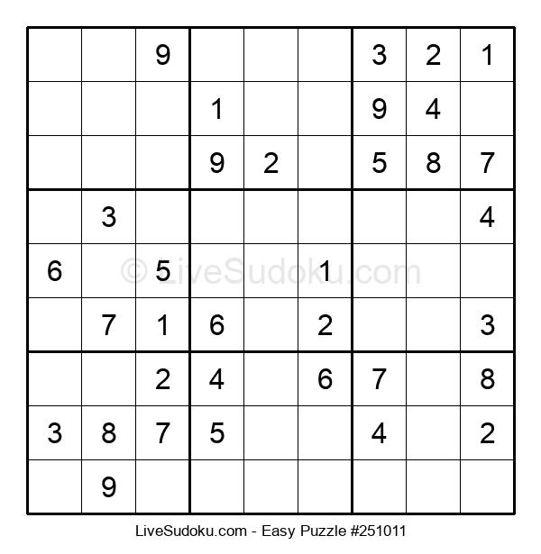 Beginners Puzzle #251011
