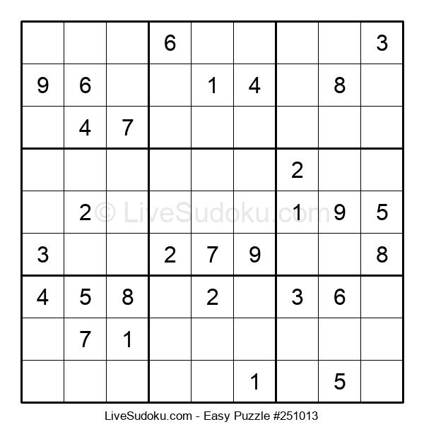 Beginners Puzzle #251013