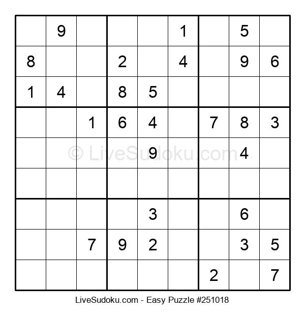 Beginners Puzzle #251018