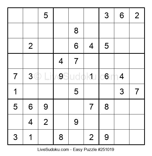 Beginners Puzzle #251019