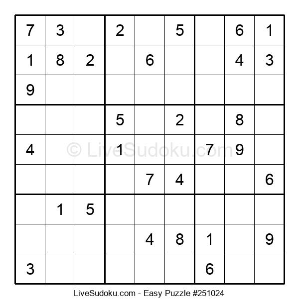 Beginners Puzzle #251024