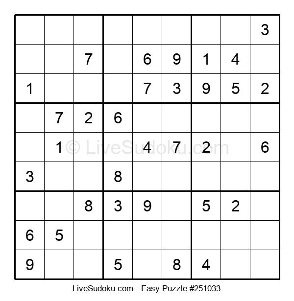 Beginners Puzzle #251033
