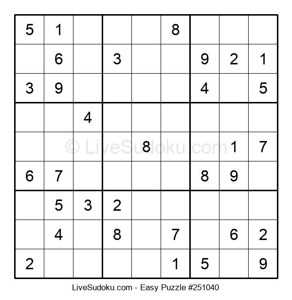 Beginners Puzzle #251040