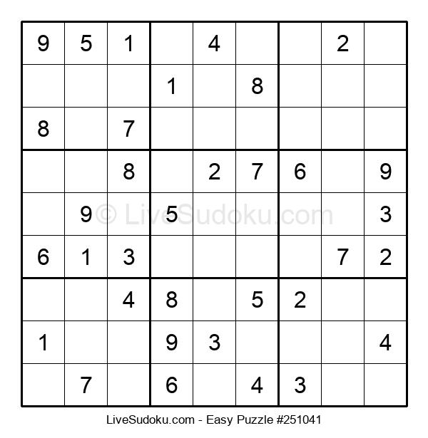 Beginners Puzzle #251041