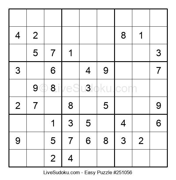 Beginners Puzzle #251056