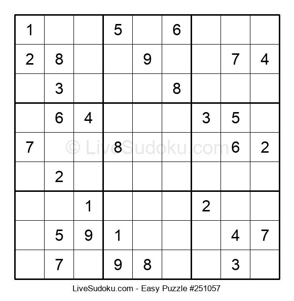 Beginners Puzzle #251057