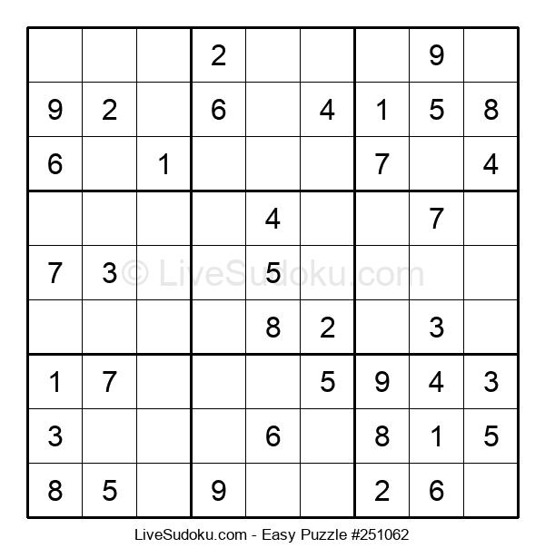 Beginners Puzzle #251062