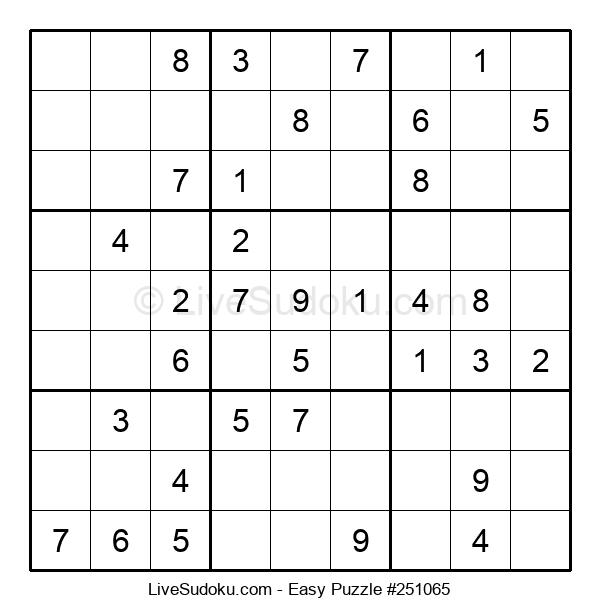 Beginners Puzzle #251065