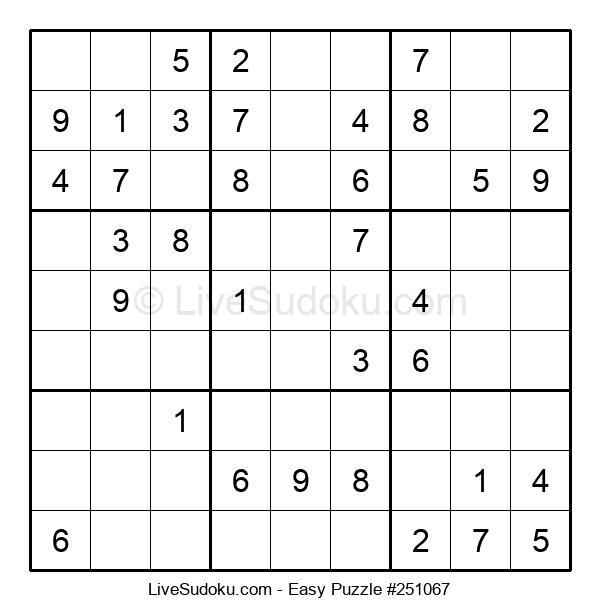 Beginners Puzzle #251067