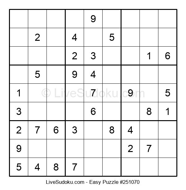 Beginners Puzzle #251070