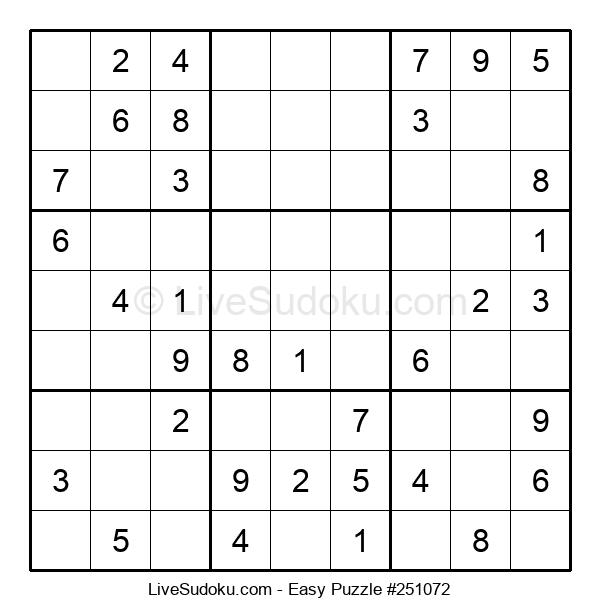 Beginners Puzzle #251072