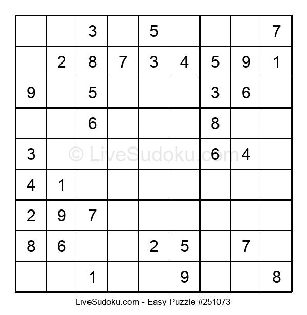 Beginners Puzzle #251073