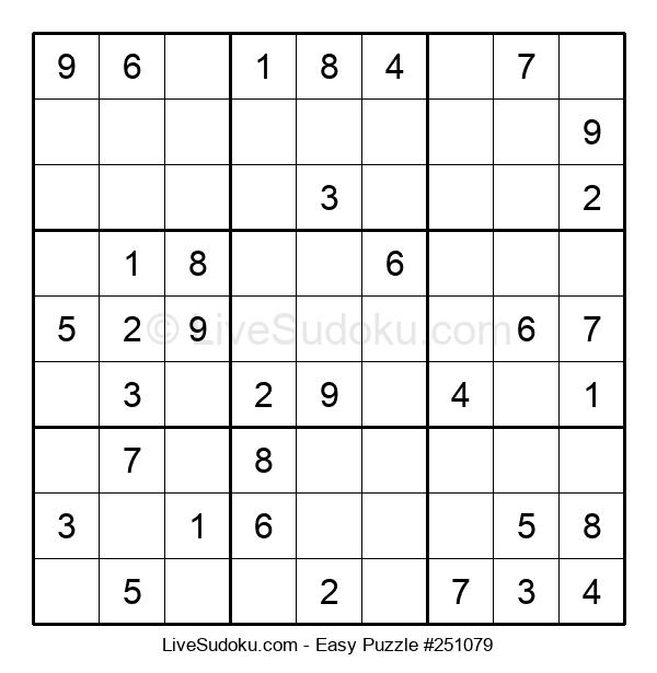 Beginners Puzzle #251079