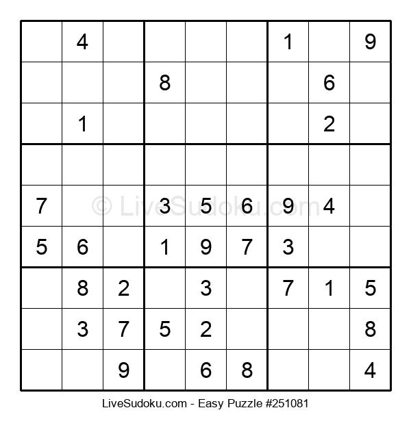 Beginners Puzzle #251081