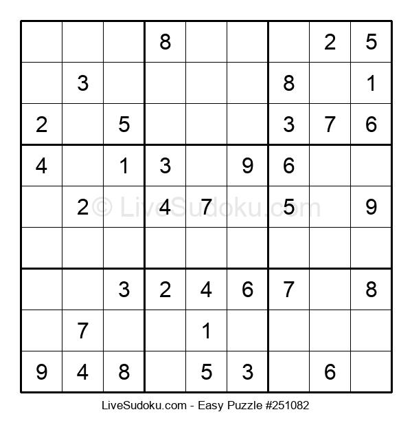 Beginners Puzzle #251082