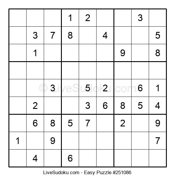 Beginners Puzzle #251086