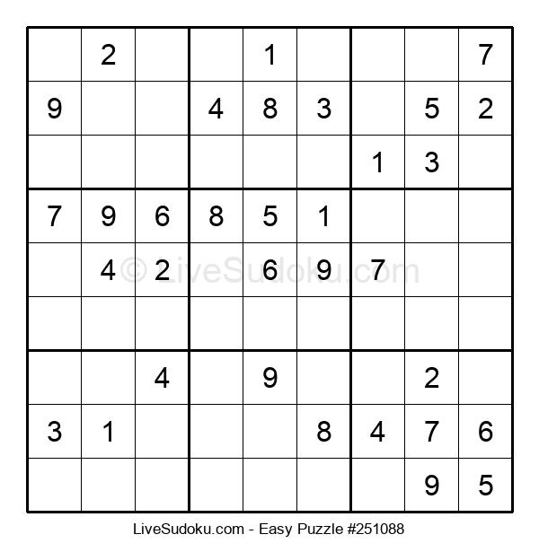 Beginners Puzzle #251088