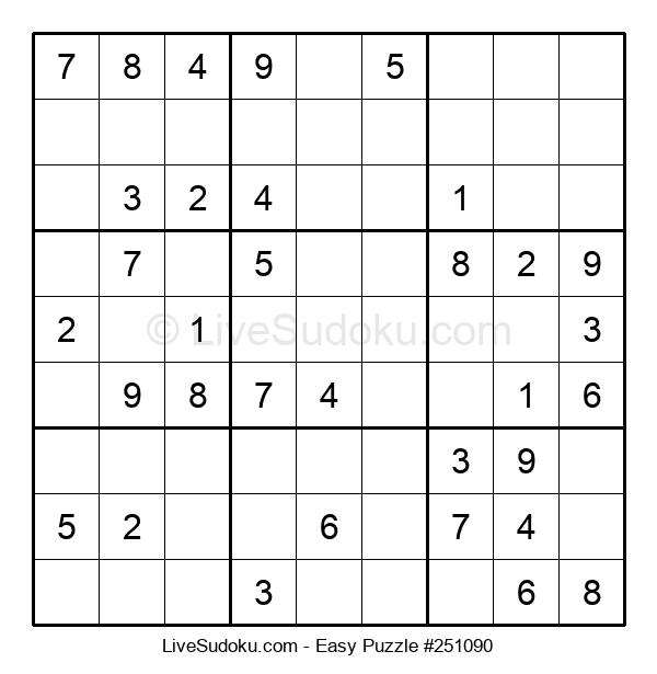 Beginners Puzzle #251090