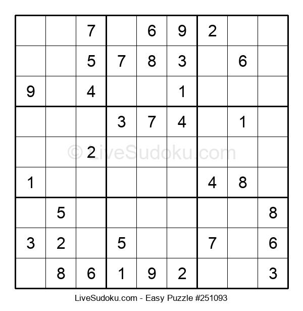 Beginners Puzzle #251093