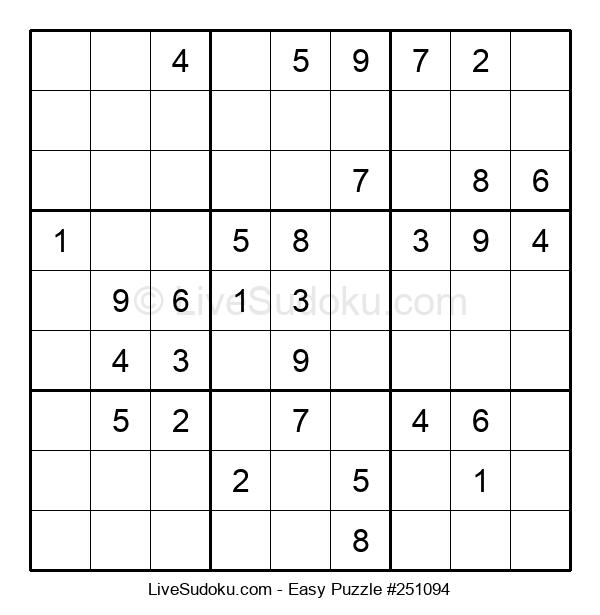 Beginners Puzzle #251094