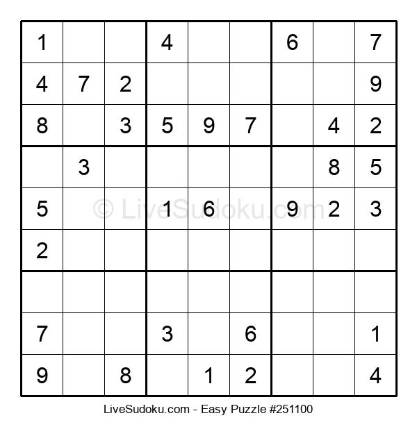 Beginners Puzzle #251100