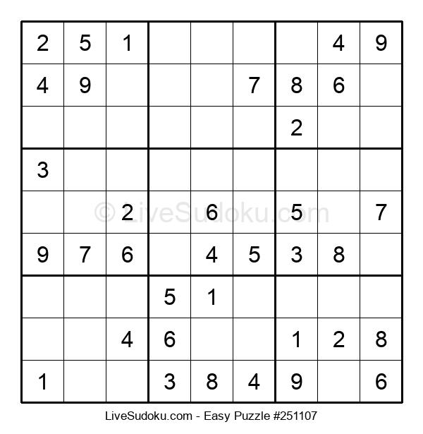 Beginners Puzzle #251107