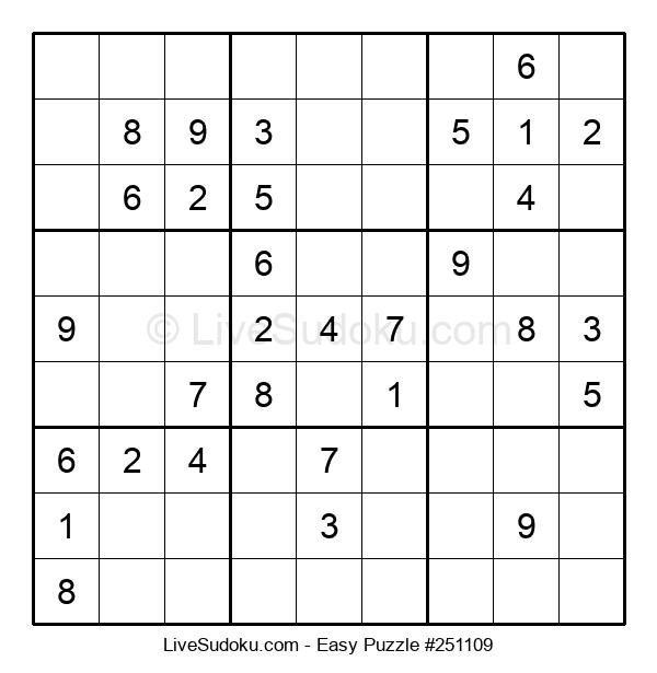 Beginners Puzzle #251109