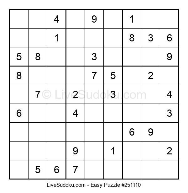 Beginners Puzzle #251110