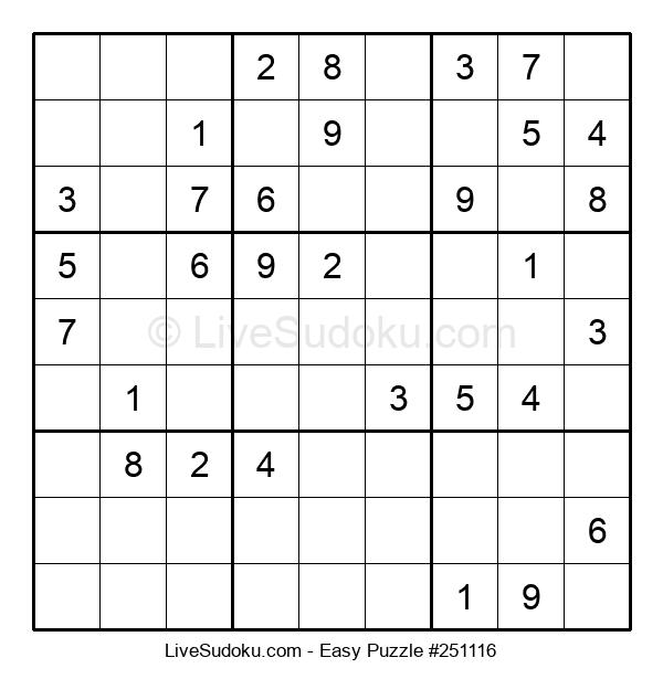 Beginners Puzzle #251116