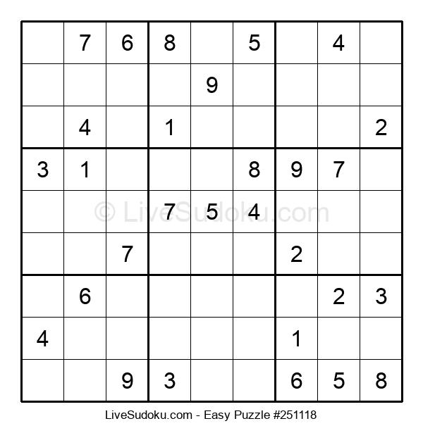 Beginners Puzzle #251118