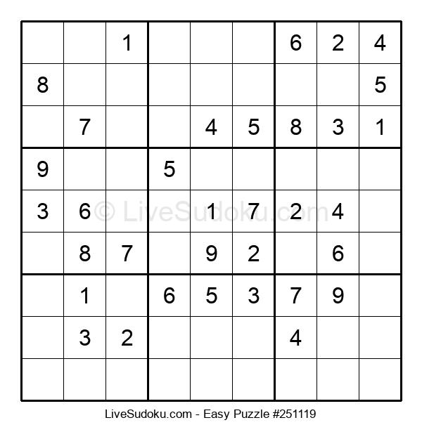 Beginners Puzzle #251119
