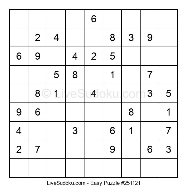 Beginners Puzzle #251121